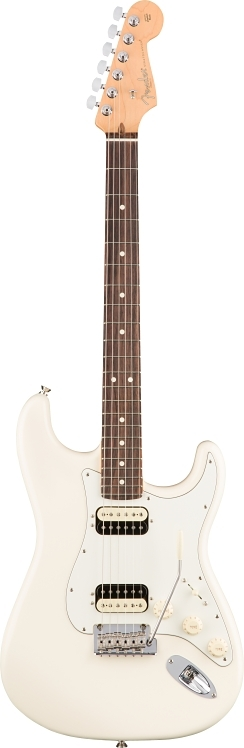 American Professional Stratocaster® HH Shawbucker - Olympic White