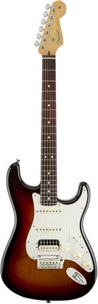 American Standard Stratocaster® HSS Shawbucker™ - 3-Color Sunburst
