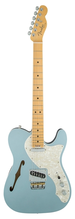 American Elite Telecaster® Thinline - Mystic Ice Blue