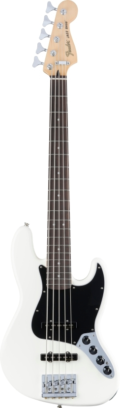 Deluxe Active Jazz Bass® V - Olympic White