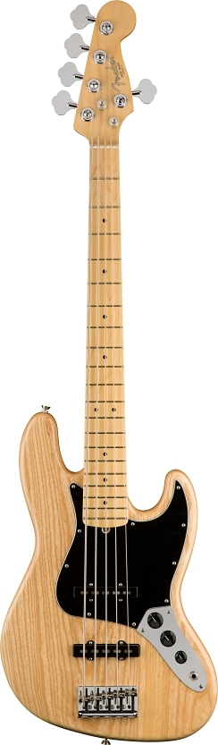 American Professional Jazz Bass® V - Natural