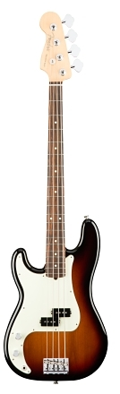 American Professional Precision Bass® Left-Hand - 3-Color Sunburst
