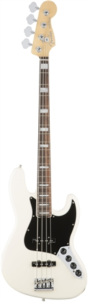 American Elite Jazz Bass® - Olympic White