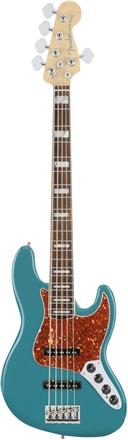 American Elite Jazz Bass® V - Ocean Turquoise