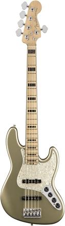 American Elite Jazz Bass® V - Champagne