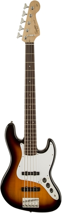 Affinity Series™ Jazz Bass® V (5-String) - Brown Sunburst