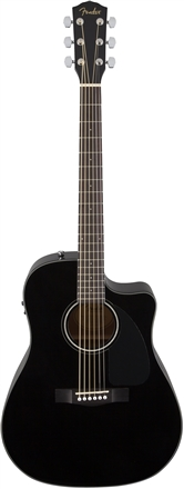 CD-60CE with Case - Black
