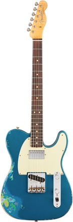 Limited Edition Heavy Relic® '60s H/S Tele® - Aged Lake Placid Blue over Blue Flower