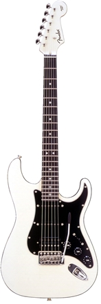 Aerodyne Strat® Medium Scale HSS - Vintage White