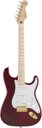 Ritchie Kotzen Strat SSS - Transparent Red Burst