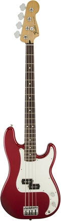 Standard Precision Bass® - Candy Apple Red