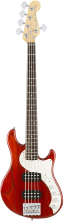 American Elite Dimension™ Bass V HH - Cayenne Burst