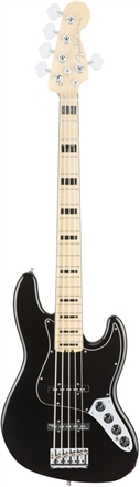 American Elite Jazz Bass® V - Black