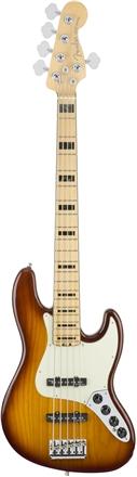 American Elite Jazz Bass® V - Tobacco Burst