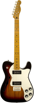 Modern Player Telecaster® Thinline Deluxe - 3-Color Sunburst
