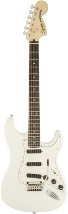 Deluxe Hot Rails™ Strat® - Olympic White