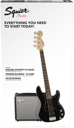 Affinity Series™ Precision Bass® PJ Pack - Black