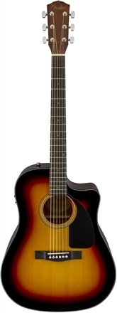 CD-60CE with Case - Sunburst