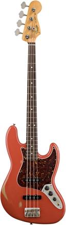 Road Worn® '60s Jazz Bass® - Fiesta Red