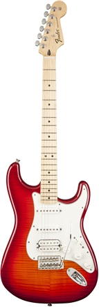Standard Stratocaster® HSS Plus Top - Aged Cherry Burst