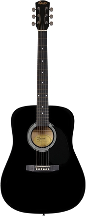 Squier® SA-105 - Black