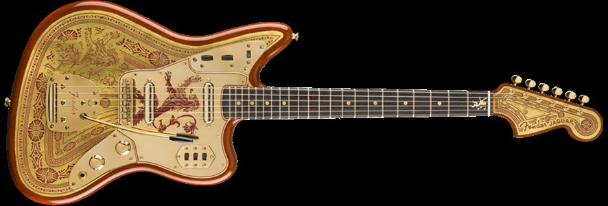 Game of Thrones™ House Lannister, Jaguar® | Jaguar Electric Guitars