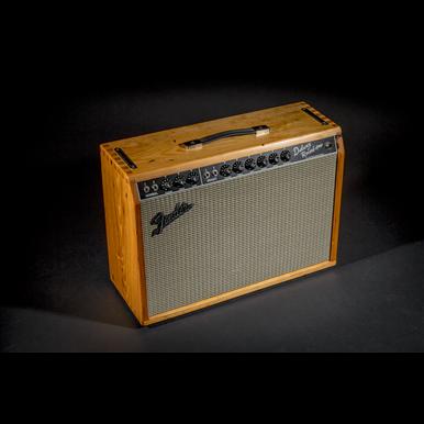 64 Custom Deluxe Reverb® Masterbuilt Natural Pine | Guitar