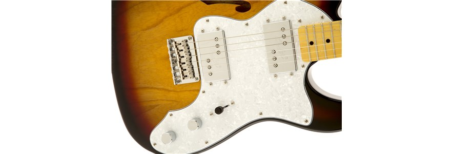 Vintage Modified '72 Telecaster® Thinline - 3-Color Sunburst