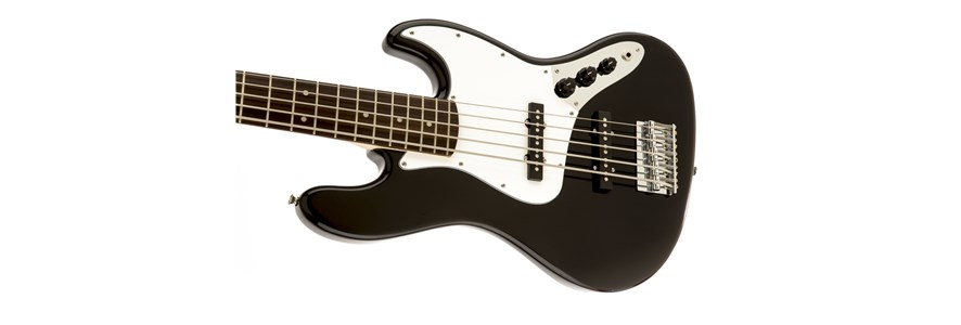 Affinity Series™ Jazz Bass® V (5-String) - Black