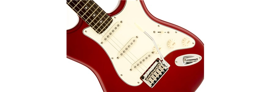 Squier® Standard Stratocaster® - Candy Apple Red