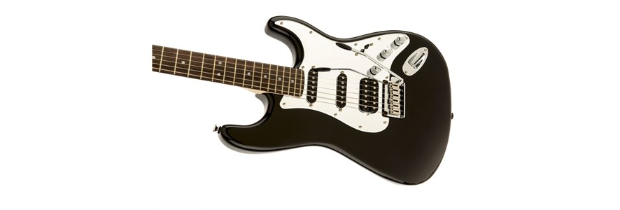 Black and Chrome Standard Stratocaster® HSS -