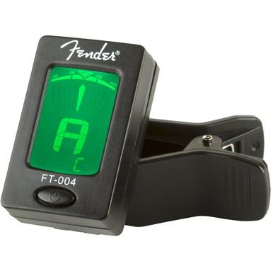 Fender® FT-004 Clip-On Chromatic Tuner - Black