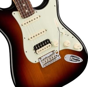 American Professional Stratocaster® HSS Shawbucker - 3-Color Sunburst