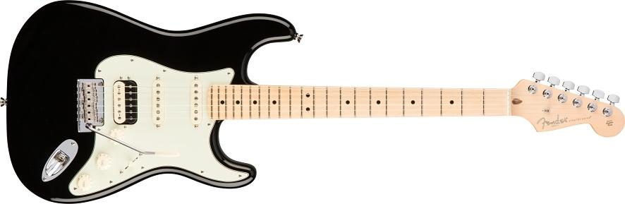 American Professional Stratocaster® HSS Shawbucker - Black