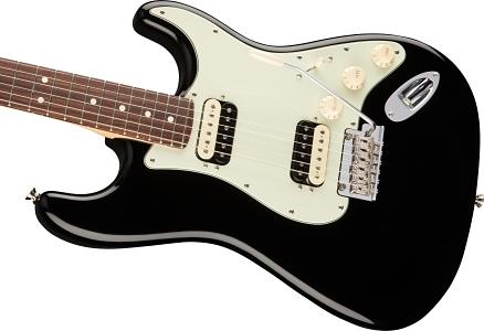 American Professional Stratocaster® HH Shawbucker - Black