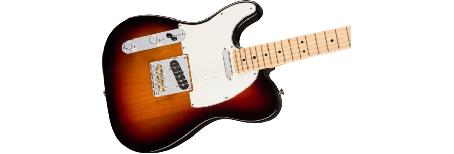 American Professional Telecaster® Left-Hand - 3-Color Sunburst