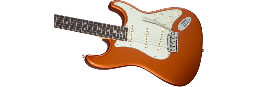 American Elite Stratocaster® - Autumn Blaze Metallic