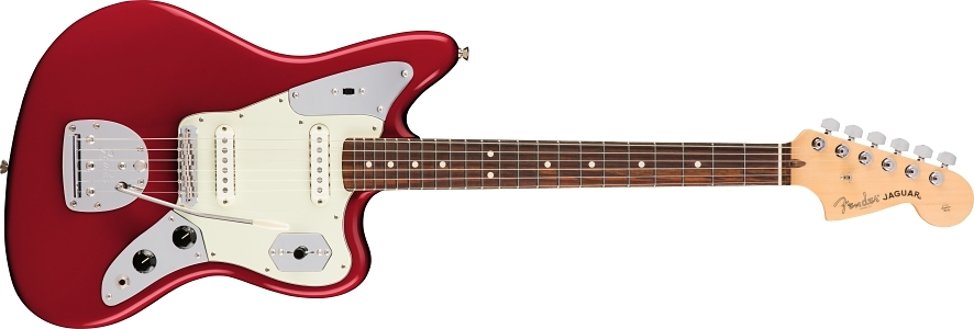 American Professional Jaguar® - Candy Apple Red