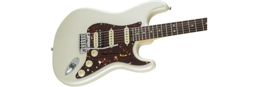 American Elite Stratocaster® HSS Shawbucker - Olympic Pearl