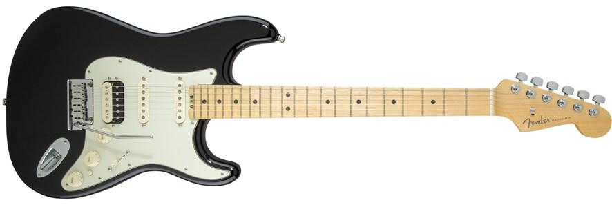 American Elite Stratocaster® HSS Shawbucker - Mystic Black