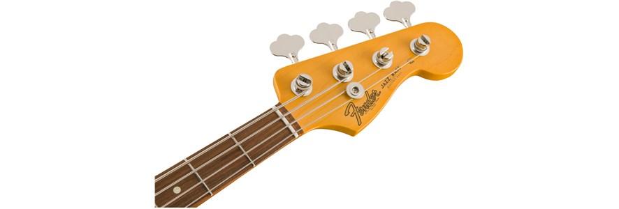 Classic Series '60s Jazz Bass® Lacquer - 3-Color Sunburst