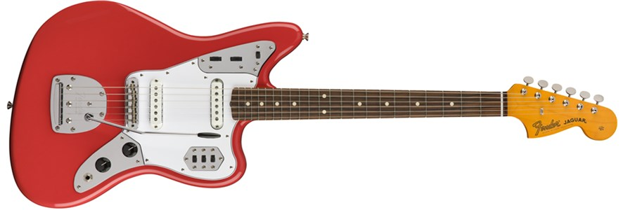 '60s Jaguar® Lacquer - Fiesta Red