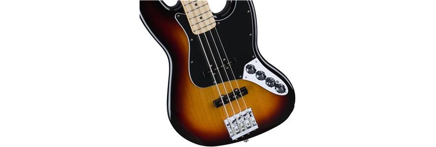 Deluxe Active Jazz Bass® - 3-Color Sunburst