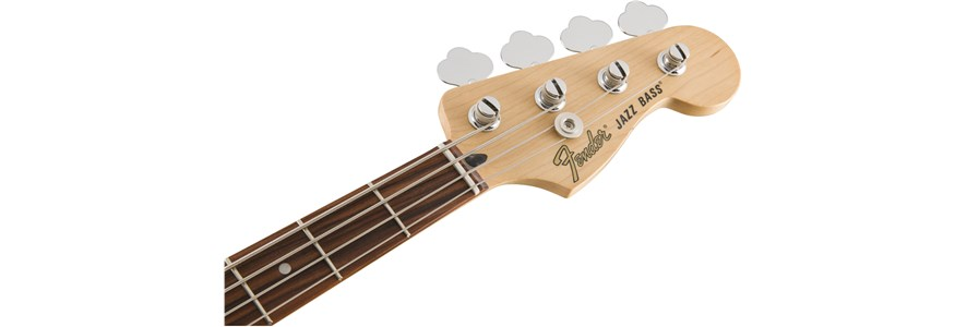 Deluxe Active Jazz Bass® - Olympic White