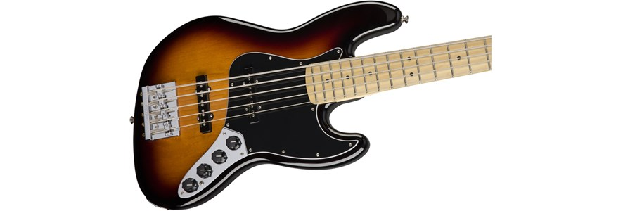 Deluxe Active Jazz Bass® V - 3-Color Sunburst