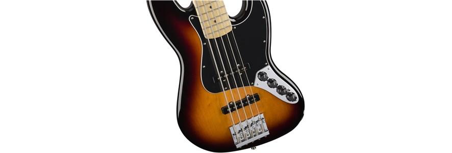 Deluxe Active Jazz Bass® V - 3-Color Sunburst