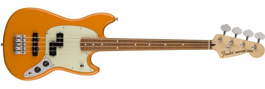 Mustang® Bass PJ - Capri Orange