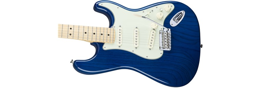 Deluxe Strat® - Sapphire Blue Transparent