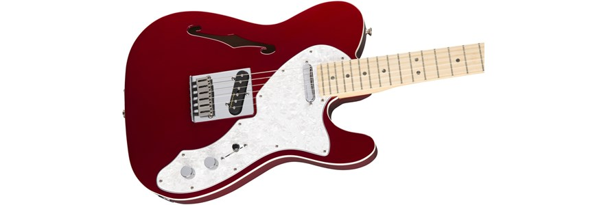 Deluxe Tele® Thinline - Candy Apple Red