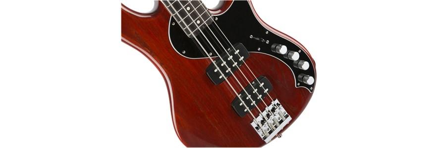 American Elite Dimension™ Bass IV HH - Cayenne Burst